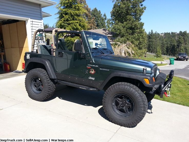 Jeeps For Sale and Jeep Parts For Sale - 2002 Jeep Wrangler Sahara lot's of extras