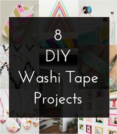 8 DIY Washi Tape Projects
