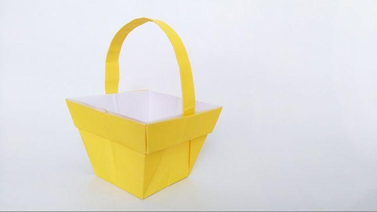 Wielkanocny koszyk origami