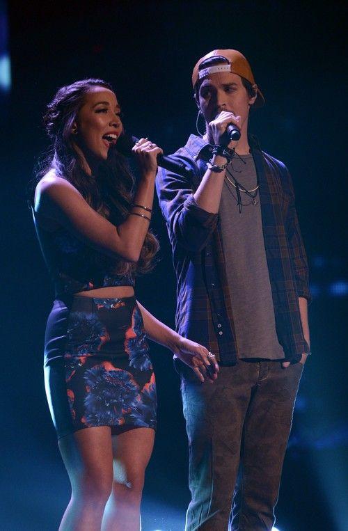 "Alex & Sierra The X Factor ""Give Me Love"" Video 12/18/13 #TheXFactorUSA  #Alex&Sierra"