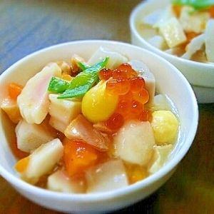 乾燥貝柱レシピ・作り方の人気順|簡単料理の楽天レシピ ひと手間の♡のっぺ~新潟郷土料理~