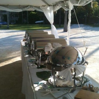 Some of our chafing dishes