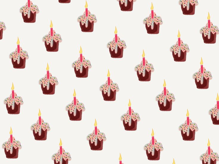 Friend's Birthday!   #digitalart #xristinapDoesHerThings #pattern #fiftythree #madewithpaper #pencil53 #cupcakes #birthday #instaart #art #illustration #drawing #artist #sketch