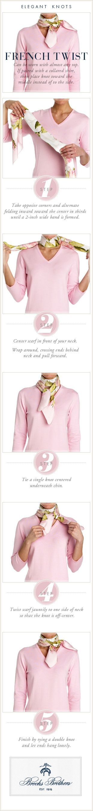 cool French Twist for scarves.And,if the scarf is Hermes,you need to know how to say ... by http://www.danafashiontrends.us/french-fashion/french-twist-for-scarves-andif-the-scarf-is-hermesyou-need-to-know-how-to-say/