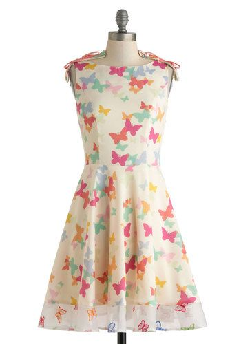 Butterfly Miss Dress, #ModCloth