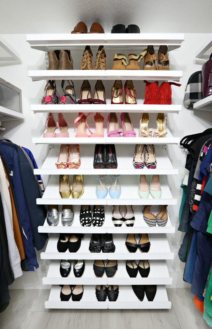 Our closet makeovers with The Container Store and HGTV Magazine - Classy Clutter