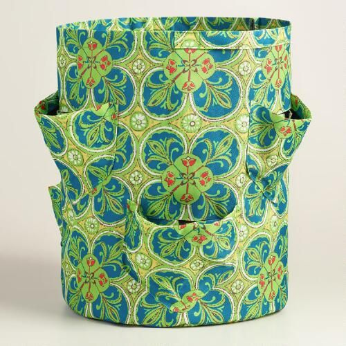 The smart choice for backyards, patios or small spaces, our fabric grow pot makes it easy to grow all types of plants anywhere you please. www.worldmarket.com #WorldMarket Plants and Gardening Tools