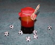 Rezept WM - Marmelade ( Fußballweltmeisterschaft 2010) von Nadine Wolf - Rezept der Kategorie Saucen/Dips/Brotaufstriche