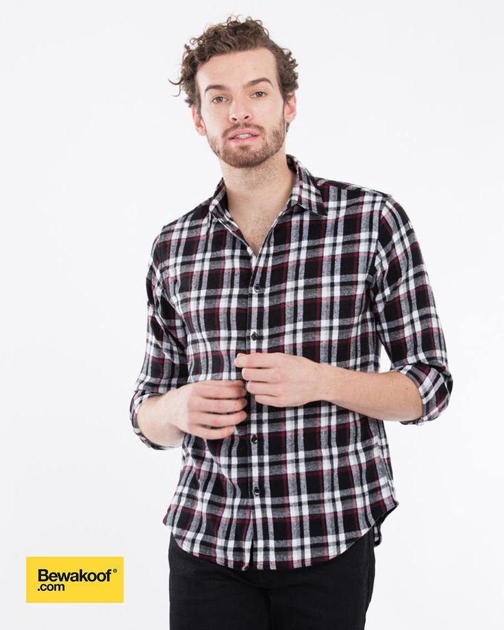 Bewakoof - Cowboy Flannel Check Shirt  INR 995 at Bewakoof.com