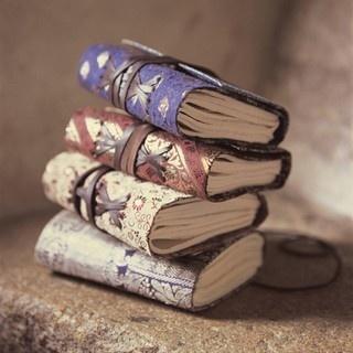 sari silk covered notebooks