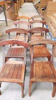 8 hardwood chairs | Dining Chairs | Gumtree Australia Maroondah Area - Bayswater North | 1131390623