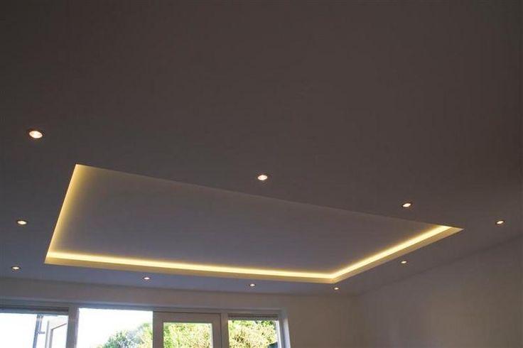 Hidden Lighting toilet verlichting plafond opbouw   verlichtingsideeën   toilet