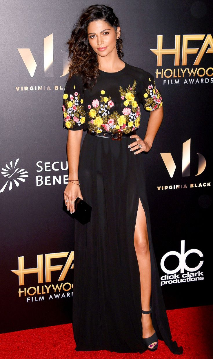 Camila Alves in Georges Hobeika