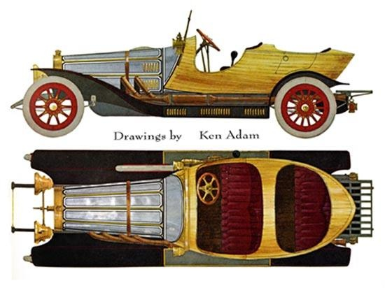 Chitty Chitty Bang Bang. Loved this movie when I was little and love this car even more!