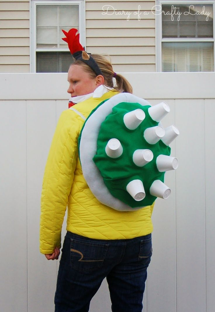 Diary of a Crafty Lady: Luigi, Bowser Jr. & Star {Super Mario Brothers Halloween!}