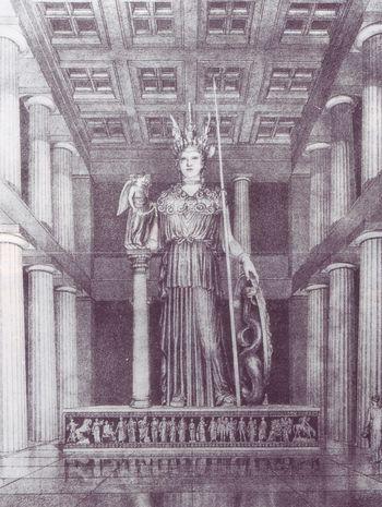 Fidia - Atena Parthenos