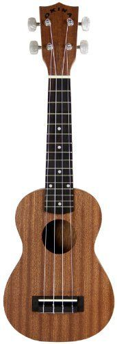 "Okina UK220 All Sapele Soprano Ukulele with Aquila Strings by Okina. $49.00. ""Aloha e komo mai!"" That means ""welcome"" in Hawaiian... and Okina is happy to welcome you to the enchanting world of ukuleles. The UK220 ukulele is the sapele wood addition to the growing Okina ukulele family. This soprano-sized ukulele features a rosewood fingerboard and all sapele top, back, and sides, along with an attractive matte finish. Sapele wood is a member of the mahogany fam..."