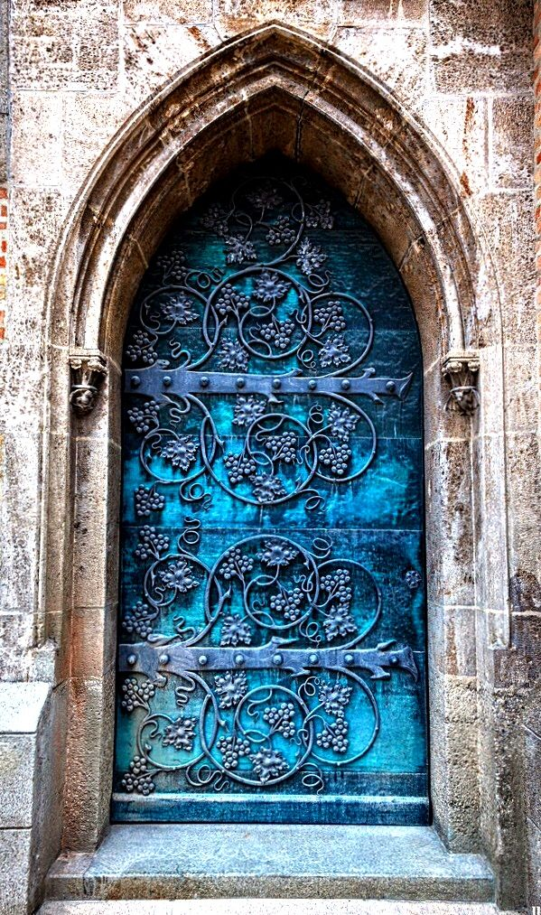 Door | ドア | Porte | Porta | Puerta | дверь | Sertã St. Ottilien Archabbey - Emming, Bavaria, Germany