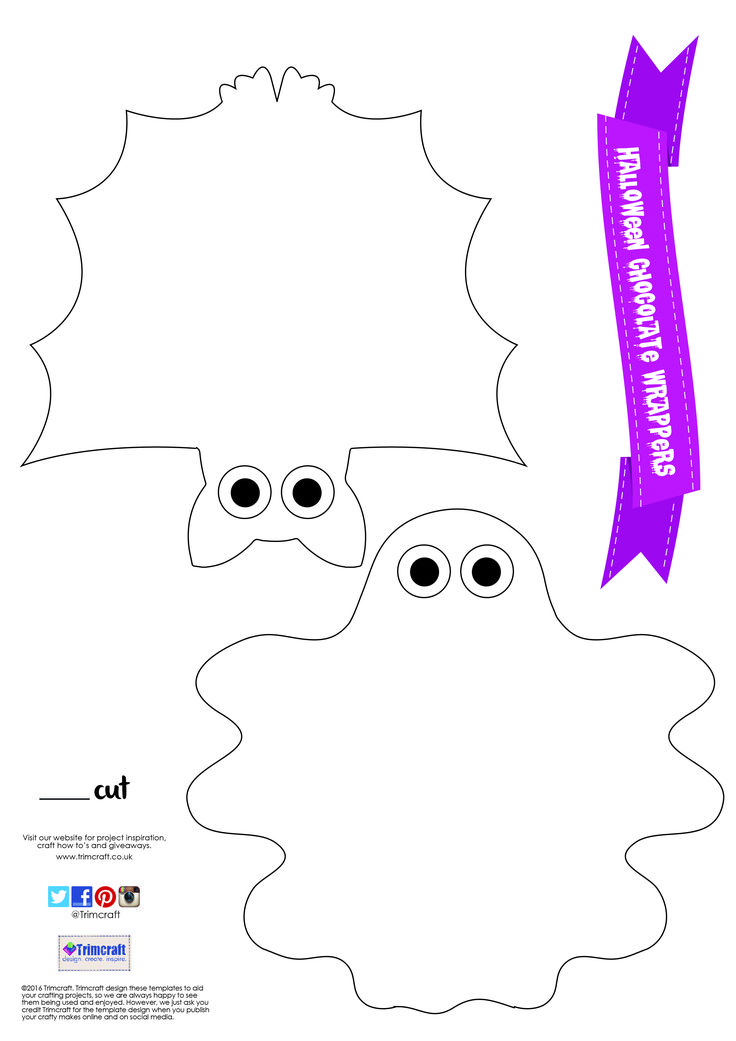 269 best Trimcraft Free Templates images on Pinterest Christmas - halloween template