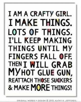 """""""#crafty #crafts #craftsmarket #handmade #gluegun #fallinlovewithyourself #create #becreative #havefun #fun #funtimes #creation"""""""