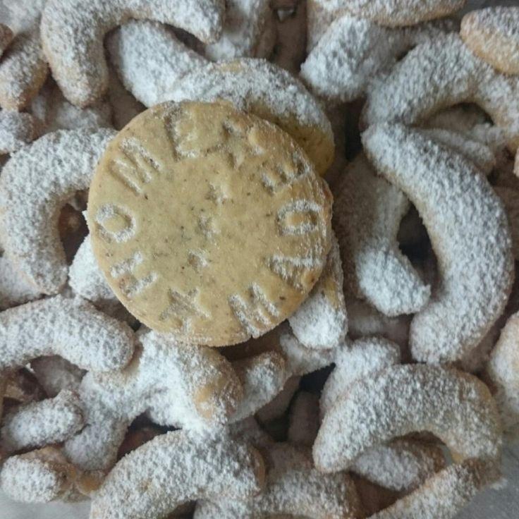 Немецкое ванильное печенье