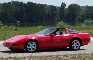 red c4 corvette in the country red corvettes pinterest 1985 corvette cars and corvette c4. Black Bedroom Furniture Sets. Home Design Ideas