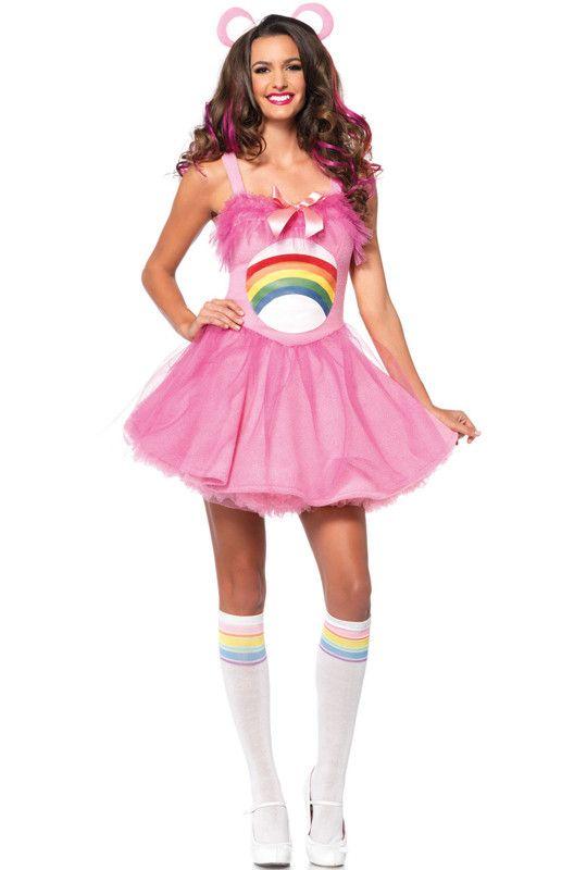 Care Bear Cheer Bear Adult Costume
