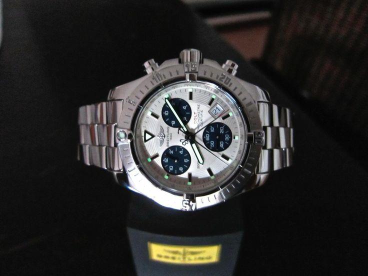 Breitling Superocean Colt Maritimer Chronograph 2009 Ländercode Deutschland