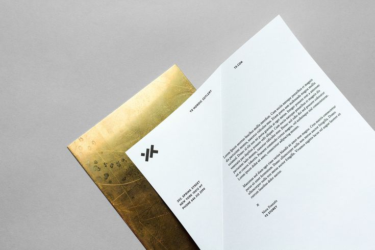 Yx Cutlery - Identity & Stationery Update on Behance