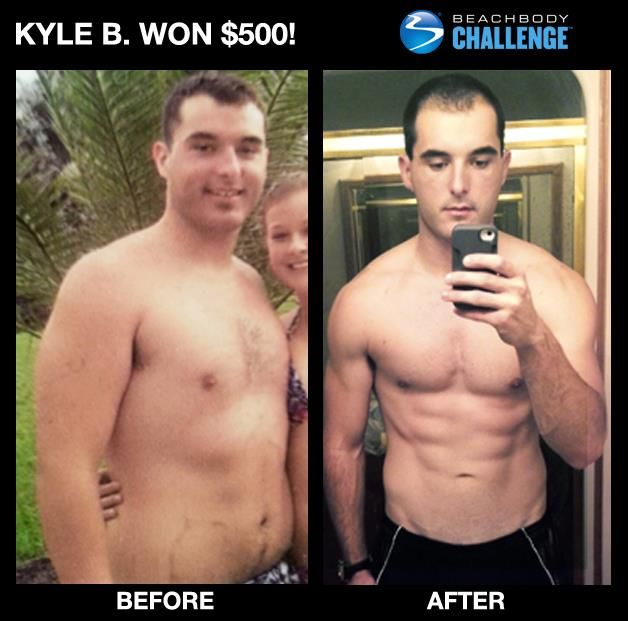 Way to go Kyle. Great job. You can change too. You could ...
