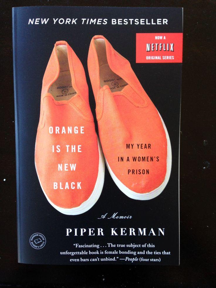 Orange is the New Black  #bookclub #loveatfirstbook #orangeisthenewblack