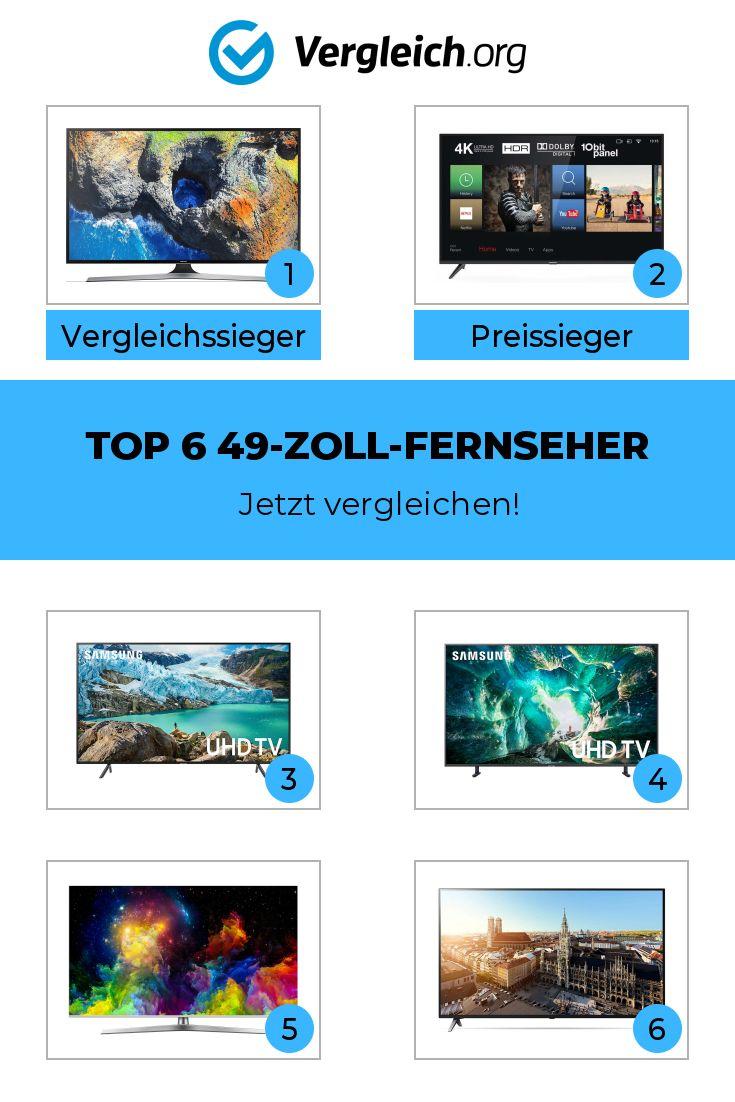 Top 6 49 Zoll Fernseher In 2020 Fernseher Zoll Elektronik