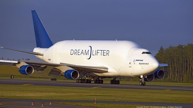 They were made for Boeing between 2006 and 2008 to transport Boeing 787 Dreamliner wings, fuselage sections and other large components from supplier factories around the world to Dreamliner assembly facilities in Everett and South Carolina. https://plus.google.com/+CaptainJack63/posts/P2yAG6wXf4B