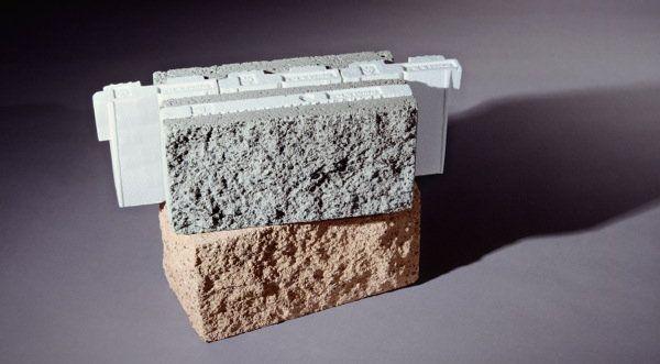 Omni Block: bloques de hormigón con aislante. Innovadores bloques de hormigón cuyo diseño ya incorpora varias capas de material aislante (poliestireno expandido). Varios formatos, colores y texturas.       #Materialesinnovadores