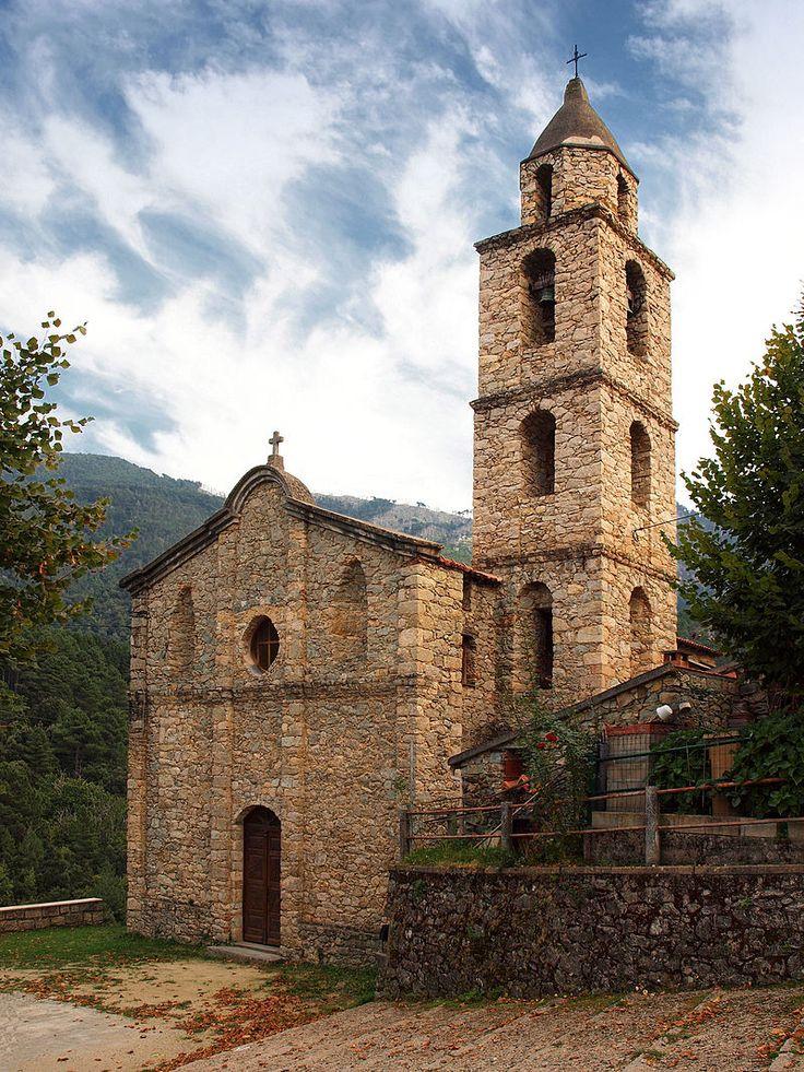 Région di Corti - Muracciole- Eglise de l'Assomption.
