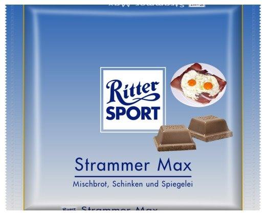RITTER SPORT Fake Schokolade Strammer Max