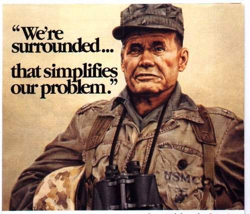 General Chesty Puller famous words at the Chosen Reservoir, during the Koren War