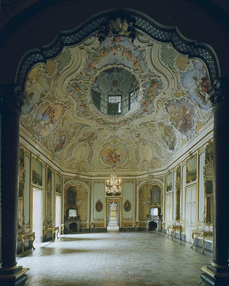 Ballroom, Catania, photo: Michael Eastman,palazzo biscari, catania province, region Sicily, Italy