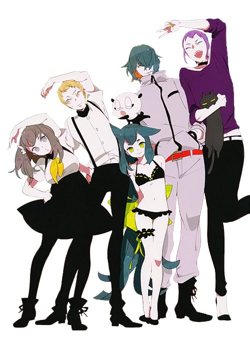 gatchaman crowds characters - Google Search