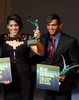 Blog Esportivo do Suíço:  Ana Marcela Cunha e Isaquias Queiroz são eleitos os Atletas do Ano de 2015