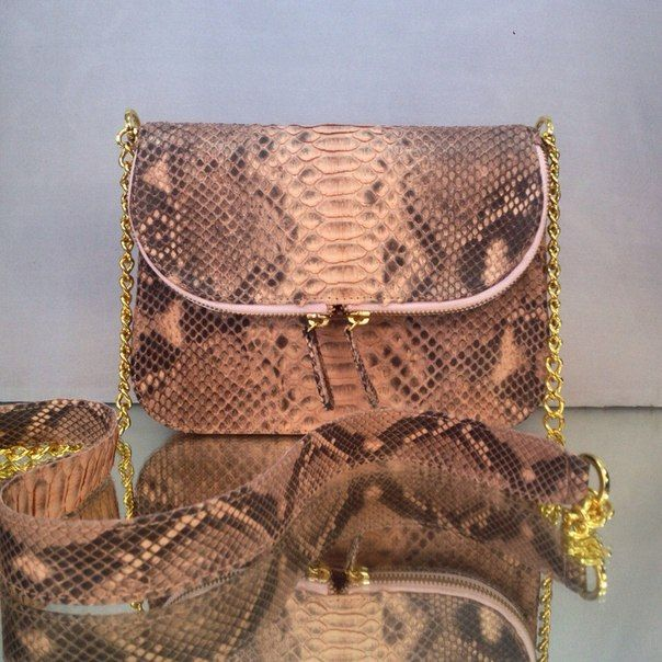 Fashion handbag handcrafted in Bali from 100 % genuine python skin. Will be handmade especially for you with love and care. Absolutely hot and unique designer handbag! A must have fashion item, that will definitely have you standing out from the crowd! #fashion #python #pythonbag #cool #bag #crossbody