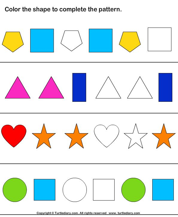 kids learning envelope geometry worksheets series math cognitive stimulation coloring entrance