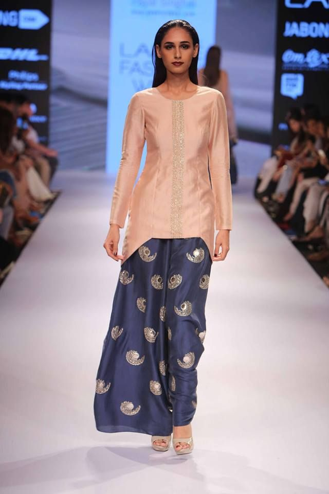 Nikhil Thmpi & Payal Singhal- Lakme Fashion Week 2015 - winter