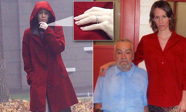 Charles Manson's new 'wife' pictured out wearing wedding ring.  What is the psychology behind women wanting to MARRY convicted serial killers? Fascinating.