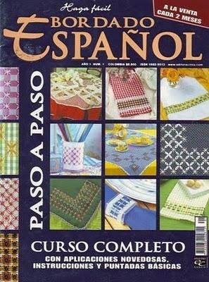 Tita Carré - Agulha e tricot by Tita Carré: bordado espanhol