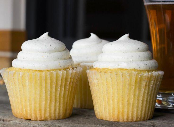 Citrus Beer Cupcakes - Craft Beer Recipe from Deschutes Brewery