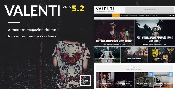 Valenti is a cutting-edge, feature-rich Wordpress premium HD (retina-ready) review magazine theme that is fully-responsive and Free For Download.