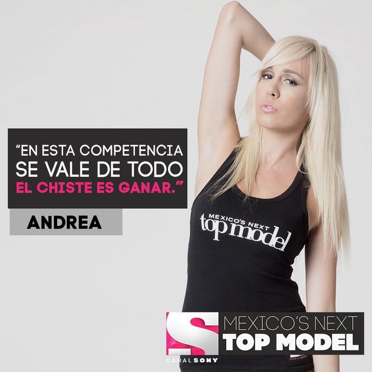 Mexico's Next Top Model 5 - Andrea