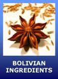 Recipes for traditional Bolivian foods, popular holiday foods, drinks, pastries, desserts, snacks, and baked goods.
