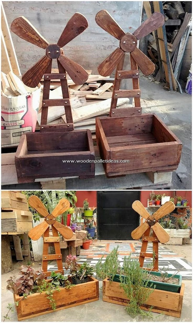 Implausible DIY Projects Made from Recycled Pallets